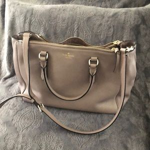 Large leather Kate spade satchel